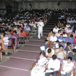 Mr. Divesh among the audiences