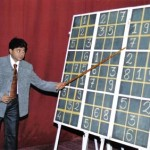 Mr. Divesh Shah explaining tricks to solve Sudoku