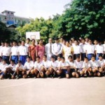 Mr. Divesh Shah with students and teachers in Colombo, Sri Lanka