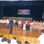 Mr. Divesh Shah during a quiz show