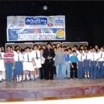 Mr. Divesh Shah with the winners of the puzzle show